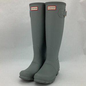Hunter | Women's Rain Boots | Tall | Light Grey